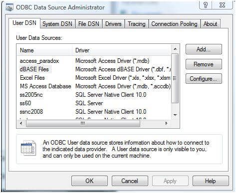 ODBC Data Source 1