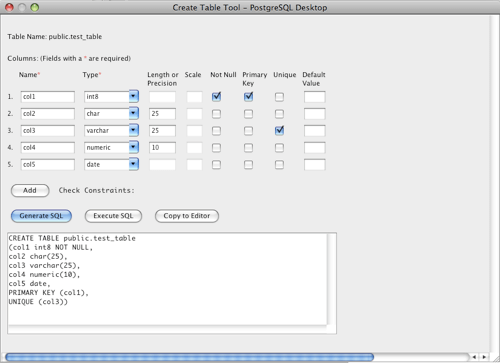 PostgreSQL GUI Tool for Mac, Windows, and Linux