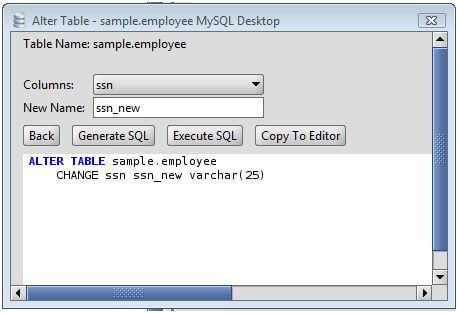 Updating a column in mysql table