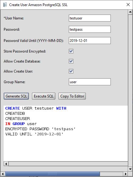 PostgreSQL Database Management Tool for Mac, Windows, and Linux