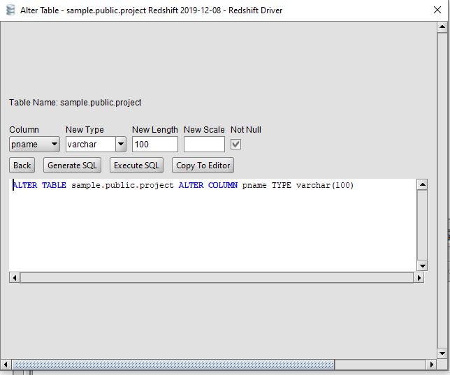 Alter column not null postgres PostgreSQL Not