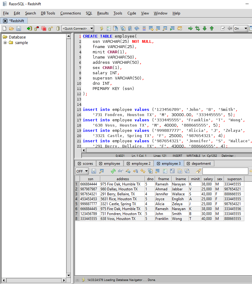Cassandra SQL Editor for Mac, Windows, and Linux