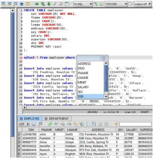 SQL Editor for Mac, Windows, and Linux